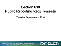 Public Reporting of Section 618 Data: Regulations, Processes, and Pitfalls