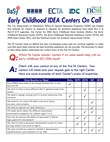 Early Childhood IDEA Centers On Call