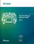 New Data Manager Welcome Toolkit and 2016 Due Date List