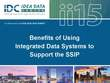 Benefits of Using Integrated Data Systems to Support the SSIP