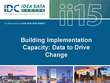 Building Implementation Capacity: Data to Drive Change