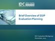 Brief Overview of SSIP Evaluation Planning