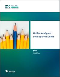 IDEA Data Quality:  Outlier Analyses Tools