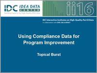 Using Compliance Data for Program Improvement