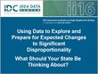 Using Data to Explore and Prepare for Expected Changes to Significant Disproportionality: What Should Your State Be Thinking About?