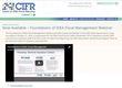 Foundations for IDEA Fiscal Management Webinar